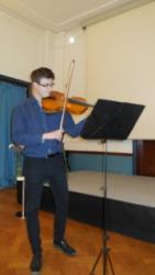 Bachova Sarabanda pro sólovou violu